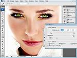 Hogyan változtassuk meg a szem színét Photoshopban? részlet