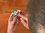 Hogyan rakjuk ki a 4x4-es Rubik kockát? 2. rész - az élek párosítása részlet