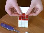 Hogyan cseréljünk matricát a Rubik kockán és hogyan szilikonozzuk? részlet