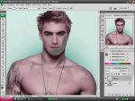 Hogyan készítsünk szakállat Adobe Photoshop segítségével? részlet