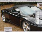 Virtual Tuning - Autó krómozása Adobe Photoshopban részlet