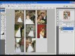 Esküvői képek szerkesztése 5 - Mozaikkép  részlet