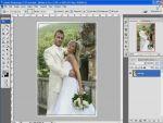 Esküvői képek szerkesztése 7 - Szamárfül részlet