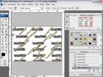 Adobe Photoshop: egyedi ecsetes h�tt�r k�sz�t�se r�szlet