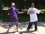 Funky táncok - Locking stílus, 2. rész, Breakdown, Snake figura részlet