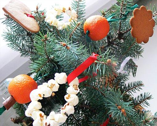 Karácsonyfadísz készítés természetes anyagokból