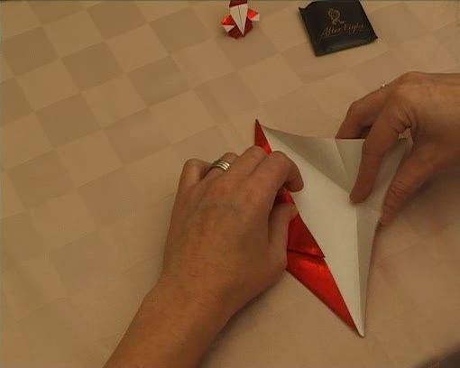 Papírmikulás készítés, origami