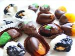 Csokis aszalt gyümölcs készítése karácsonyra, ajándékba részlet