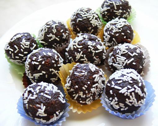 Csokis bonbon készítése (Karácsonyi recept)