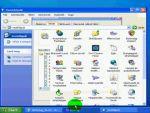 Windows XP: Biztonság fül megjelenítése részlet