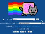 Vicces Nyan-Cat elhelyezése bármely weboldalra részlet