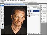 Hogyan készítsünk töredezett kinézetet Photoshopban? részlet