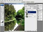 Hogyan készítsünk tükröződő felületet Photoshopban? részlet