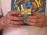 Két minta kirakása a Rubik (bűvös) kockán részlet