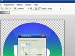 Hogyan készítsünk üveggömb hatást ingyenes rajzolóprogrammal? részlet