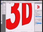 Hogyan csináljunk 3D-s szöveget Photoshopban? részlet