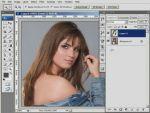Hogyan készítsünk sötét hajból szőkét Adobe Photoshopban? részlet