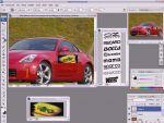 Virtual tuning - Autó matricázása Adobe Photoshopban részlet