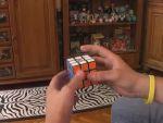 Lyukas Rubik kocka (Void Cube) kirakása részlet