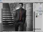 Adobe Photoshop CS4 - Maszkok panel részlet