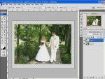 Esküvői képek szerkesztése 6 - Puzzle  részlet
