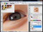 Adobe Photoshop: hogyan csináljunk szivárvány szemet? részlet