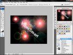 Adobe Photoshop: Fényeffektes háttérkép készítése részlet