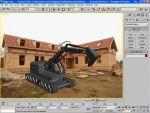 Autodesk 3D Studio Max 9 ismerkedés - 4. rész: Háttér készítése részlet