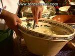 Kemencés túrós lepény készítése részlet