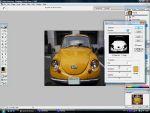 Adobe Photoshop: Hogyan fessük át a kocsinkat egyszerûen? részlet