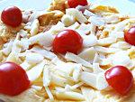 Tejszínes parmezánsajtos tojásrántotta készítése  részlet