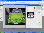 Adobe Photoshop: Gyors és egyszerû autó átszínezés részlet