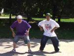 Funky táncok: Popping stílus - 2. rész, Kéz pop részlet