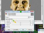Gimp: Arckép átalakítása (színezés) 2. rész részlet