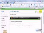 Joomla! 1.5: Mentés visszaállítása részlet