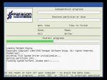 Drive Backup: Rendszerpartíció visszaállítása Windows alól részlet