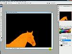 Adobe Photoshop: Láva effekt készítés részlet