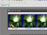 Jasc Animation Shop: Monogram elhelyezés animációba részlet
