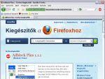 Adblock Plus: Hirdetések blokkolása Firefox alatt részlet