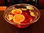 Alkoholmentes narancs bólé készítés gyerekpezsgőből: Mixertanfolyam - 56. rész