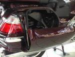 Honda Goldwing: Csomagtartó nyitása mechanikusan részlet