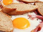 Ham and eggs készítés egyszerûen részlet