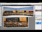 Adobe Photoshop: Panorámakép készítés egyszerűen részlet