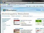 Internet Explorer 8 Webszelet, webslice telepítés és használat részlet