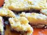 Lekváros málé édesség készítés részlet