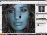 Adobe Photoshop: Navi Avatar készítés saját képeinkbõl részlet