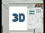 Adobe Photoshop CS5: 3D-s szövegek készítése részlet