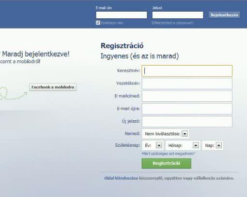 facebook belépés nélkül