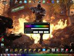 Szivárvány színű tálca készítése Windows 7 alá a Taskbar Texture segítségével részlet