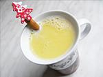 Fehércsokis karácsonyi tej ital készítése részlet